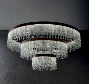 Eclisse SO COMPO moderner Kristallluster von Vintage