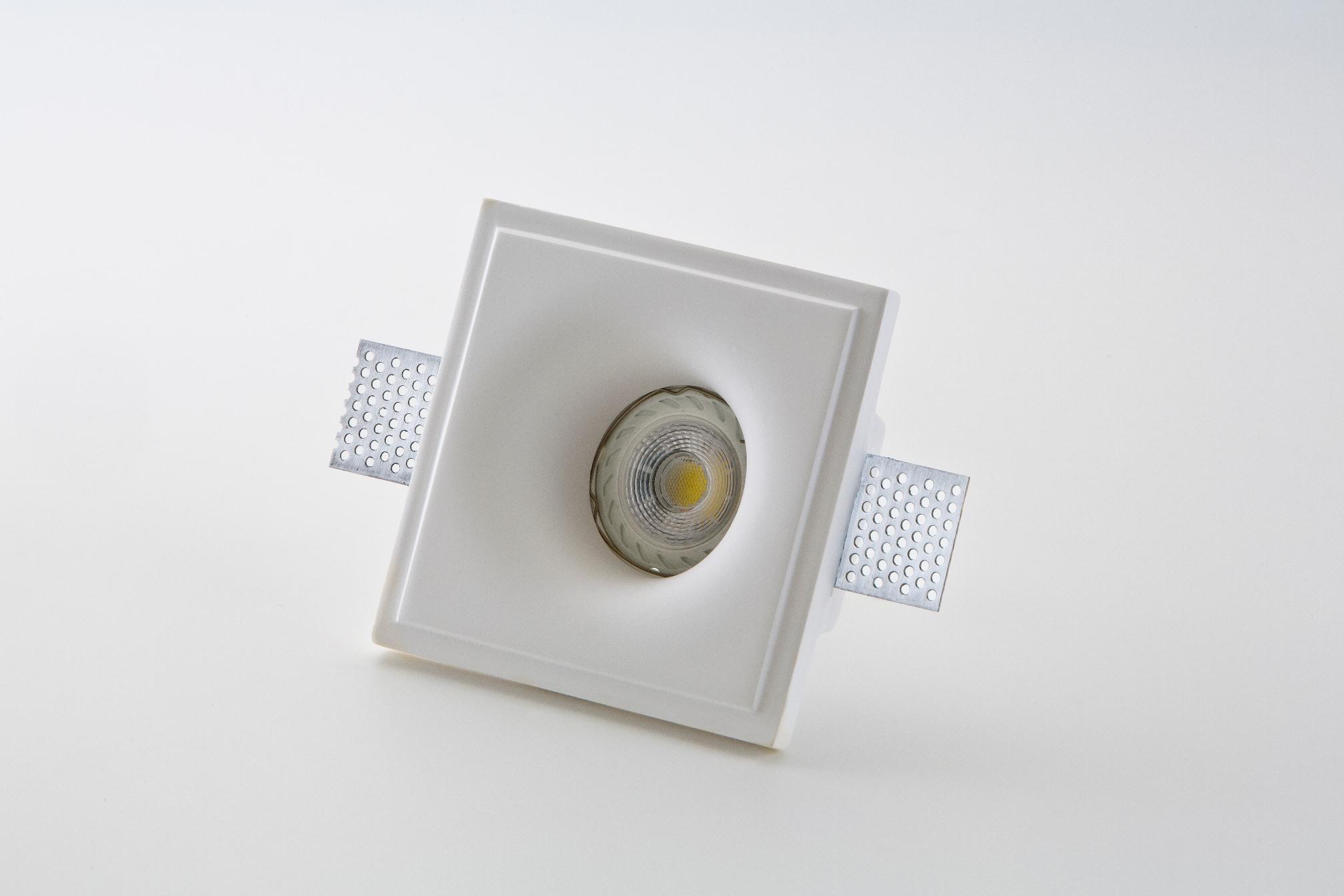 Faretto incasso 803 in gesso di isy luce bagno for Lampade a led vendita online