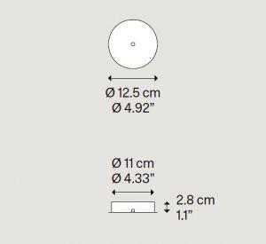 Radial Single/Double Rosette von Lodes