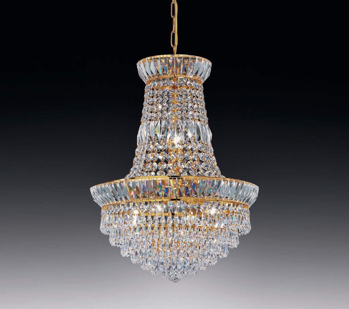 New orleans impero 40 lampadario cristallo di voltolina for Nuovi piani domestici di new orleans