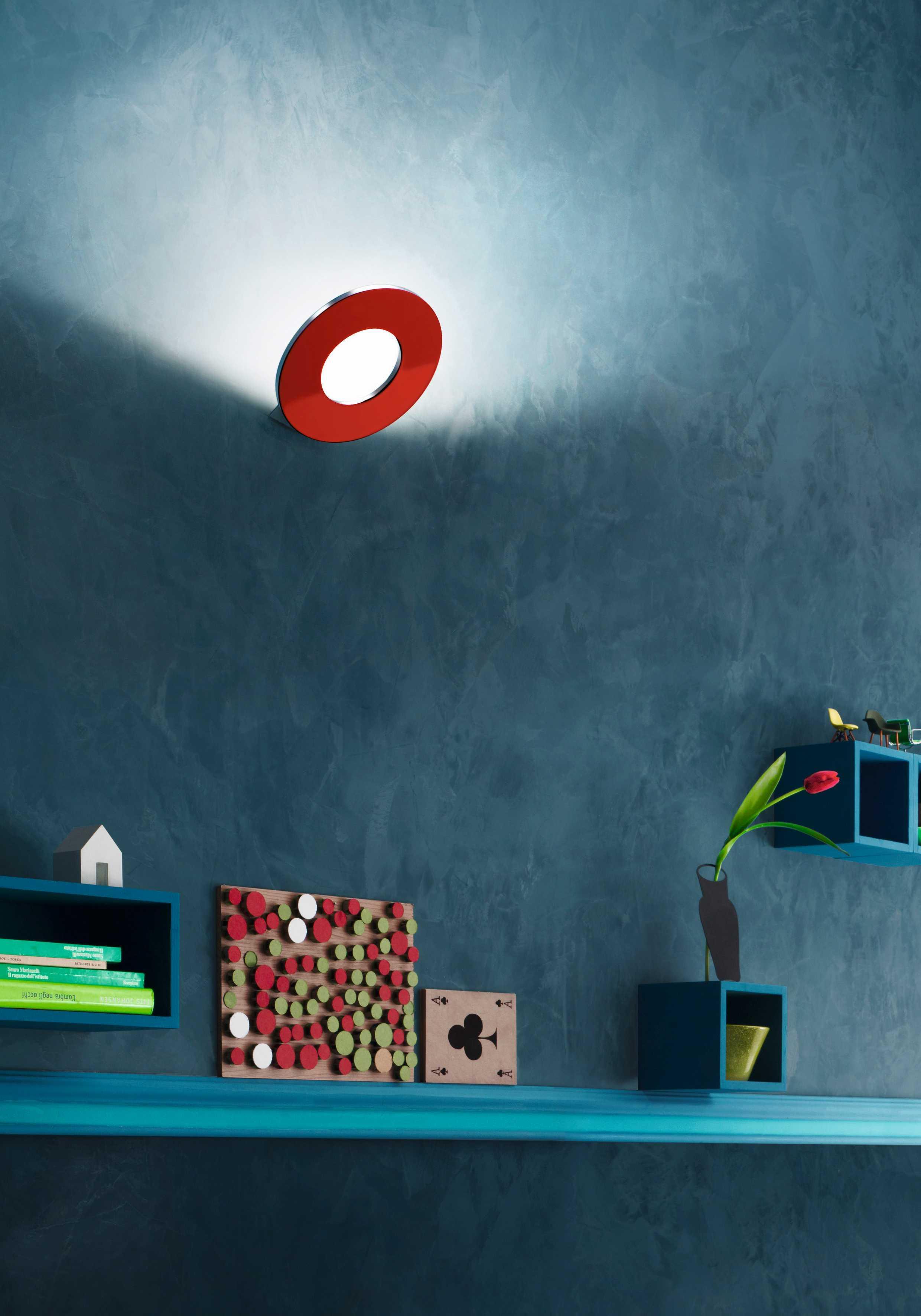 passepartout rot led wandleuchte von cini nils kinderzimmer r ume platinlux der online. Black Bedroom Furniture Sets. Home Design Ideas