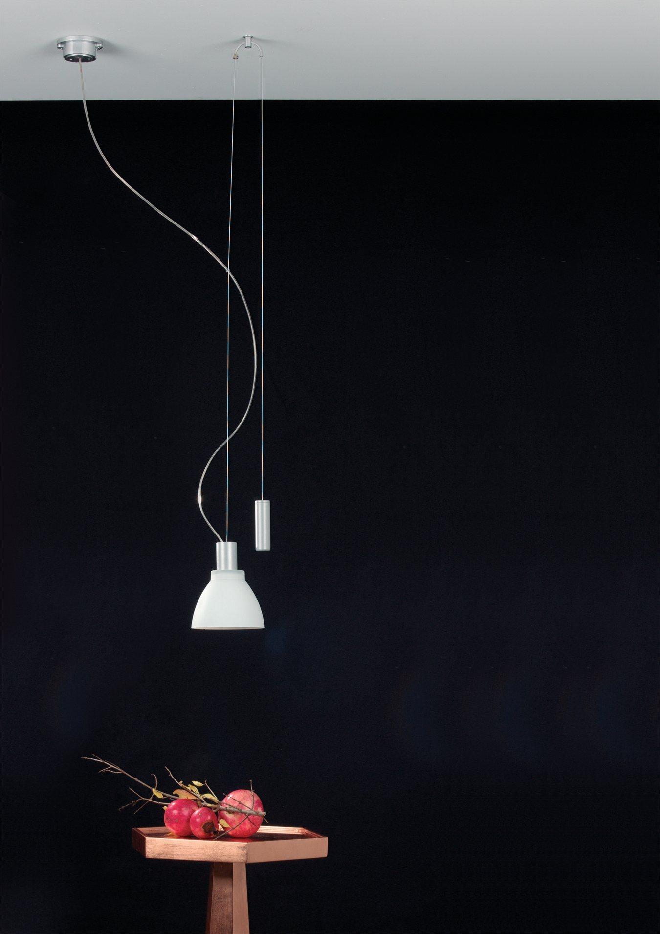h ngelampe minidesk egoluce h ngeleuchten innenleuchten platinlux der online shop f r. Black Bedroom Furniture Sets. Home Design Ideas