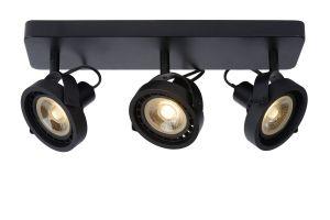LU 31931/36/30 TALA LED Spot 3x GU10/12W DTW Black