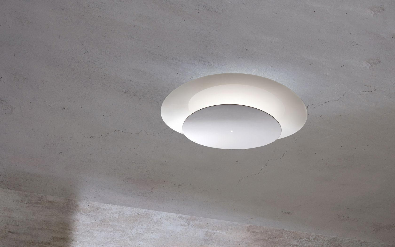 Plana pl 45 di muranoluce by light 4 lampade a soffitto for Lampade a led vendita online