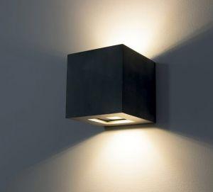 1092 LED Außenwandleuchte aus Zement von Belfiore