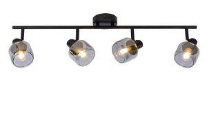 LU 77979/04/30 Lucide BJORN - Wall spotlight - 4xE14 - Black