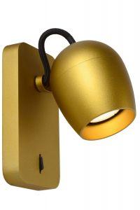LU 09927/05/02 PRESTON  Ceiling Spotlight 1x GU10/5W Satin Brass