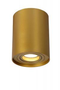 LU 22952/01/02 TUBE Spot Round GU10 D9.6 H12.5cm Matt gold/Brass