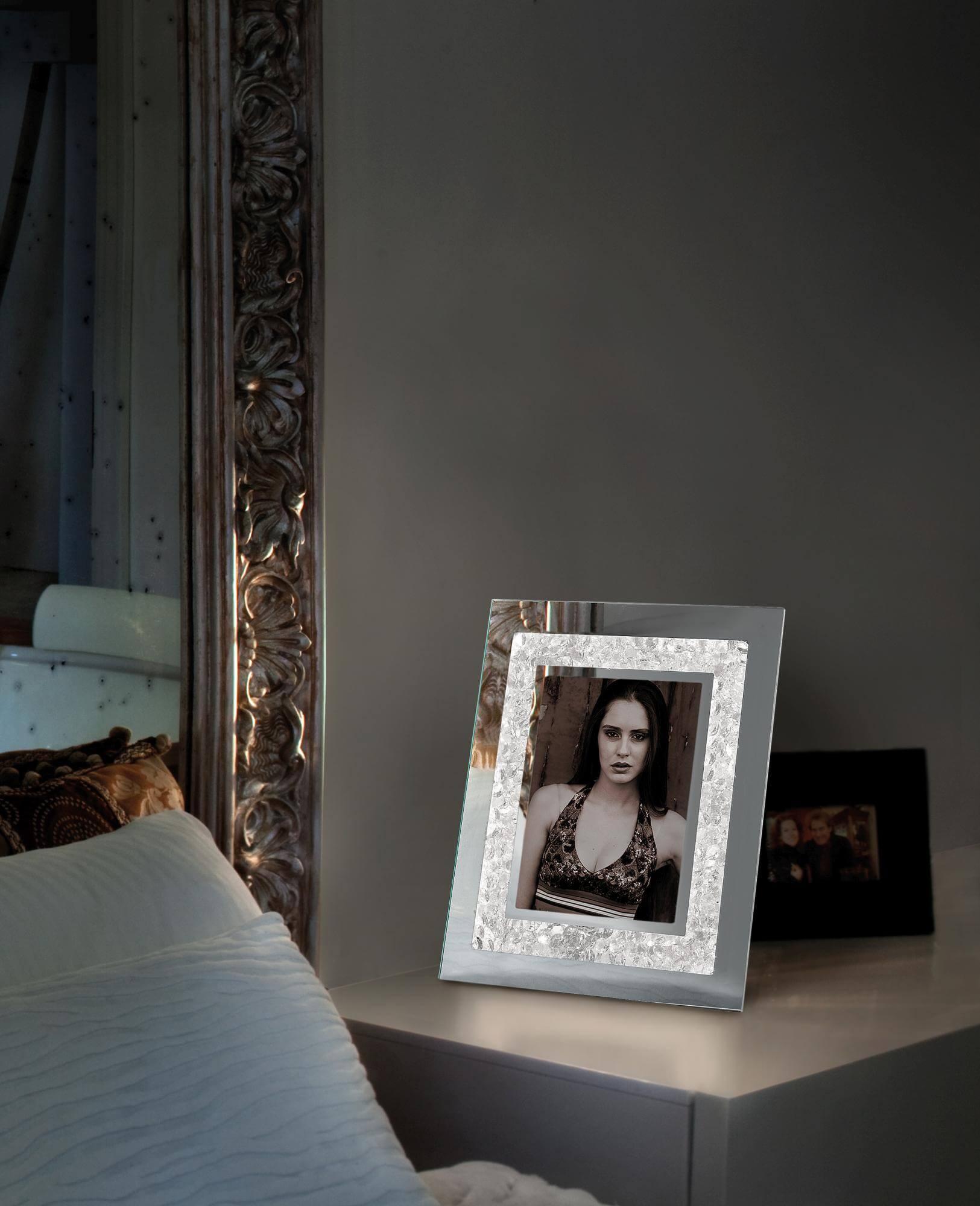 narciso ed 1063 30 tischspiegel von sil lux tischleuchten innenleuchten platinlux der. Black Bedroom Furniture Sets. Home Design Ideas