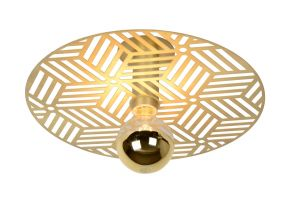 LU 05131/01/02 OLENNA Ceiling Light Ø 40cm E27/40W Goud