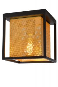 LU 21122/01/30 SANSA Ceiling light 1xE27/40W Black/Gold