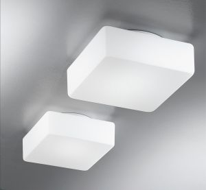 Krea Quadra 16x16 lampada da parete/plafona, Antealuce