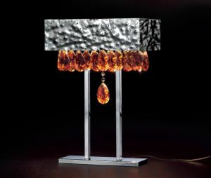 Designerleuchte Tischleuchte Magma 450/LG von Lamp