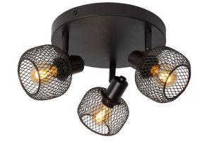 LU 77978/13/30 MAREN Ceiling spotlight 3x E14 Black