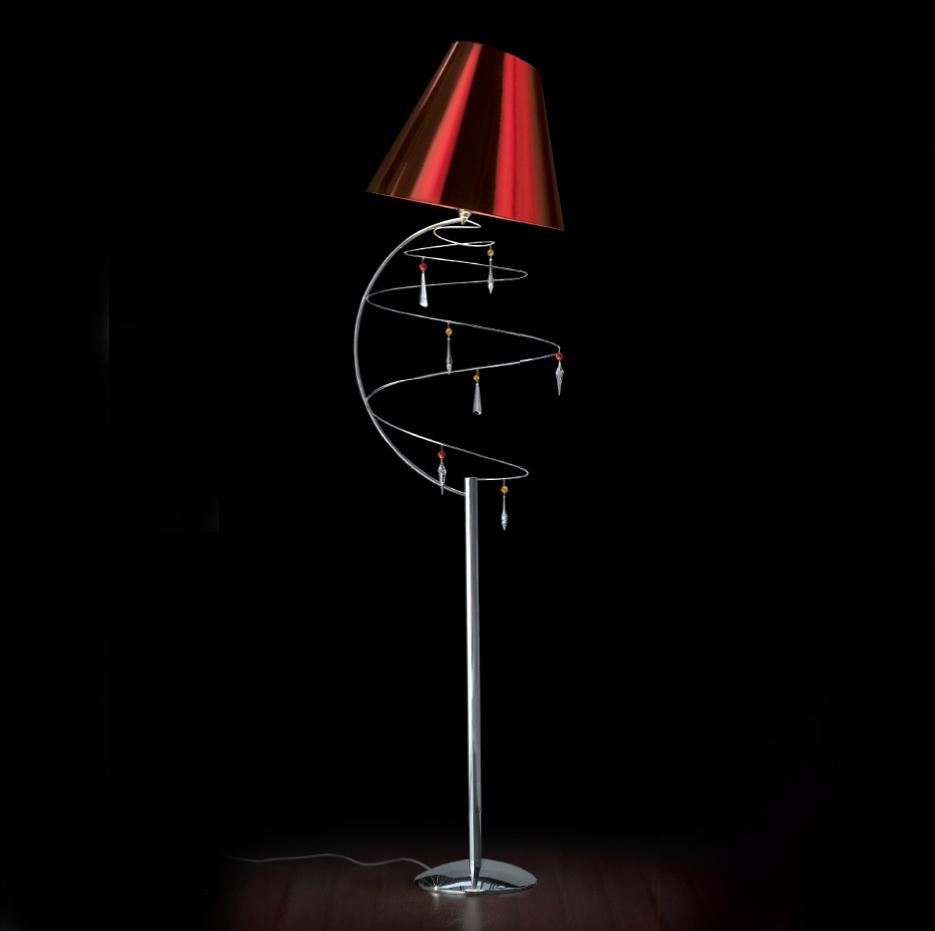 designerlampe stehlampe vertigo 460 lt von lamp. Black Bedroom Furniture Sets. Home Design Ideas