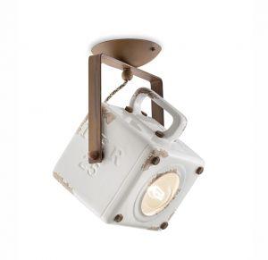 Industrial C1653 Deckenlampe von Ferroluce