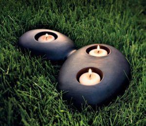 STONEHENGE Kerzenhalter von Sil Lux