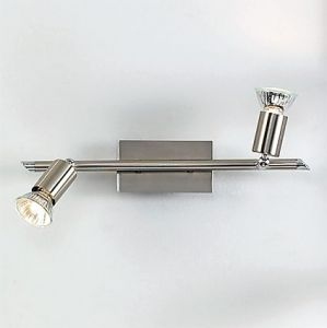 PL 5730-2L Grossetto Nichel LED Decken-/Wandstrahler