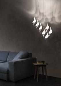 Acqua due sospesa LED di Cini&Nils