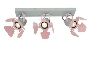 LU 17997/03/66 PICTO Ceililng spotlight 3xGU10/5W incl Pink
