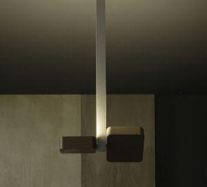 ALULED square 2L lampada da parete e soffitto di Itama by Light4