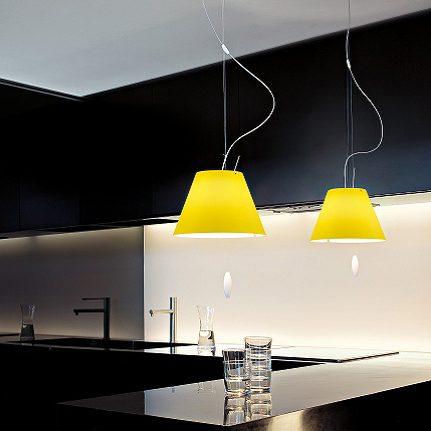 Lampada a sospensione costanzina luceplan lampade a for Lampade online design