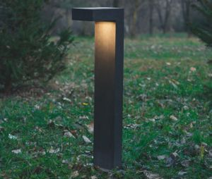1093 LED Außenlampe aus Zement von Belfiore