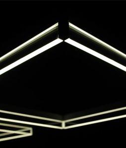 FRAME COMPO square lampada da sospensione di Itama by Light4