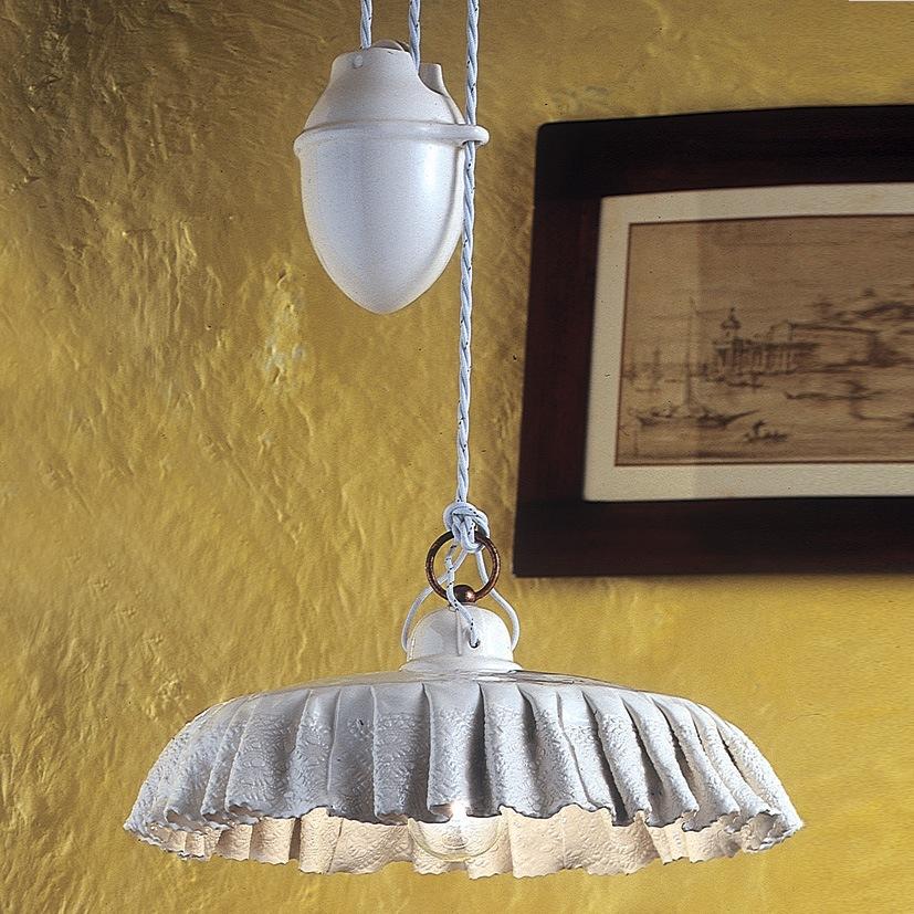 modena pendelzug h ngeleuchte von ferroluce rustikale. Black Bedroom Furniture Sets. Home Design Ideas