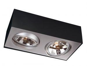 Deckenlampe BLOQ 2 von Lirio by Philips schwarz