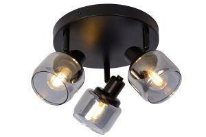 LU 77979/13/30 Lucide BJORN - Ceiling spotlight - Ø 39 cm - 3xE14 - Black