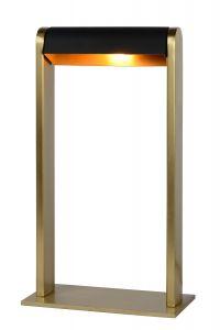 LU 30500/01/02 LORAS Table lamp G9/max 33W Satin Brass / Black