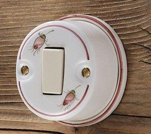 Keramik Lichtschalter von Ferroluce