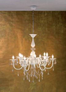 Chandelier Maximilian with 8 arms from Changini & Tucci