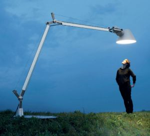 Stehlampe für außen TOLOMEO XXL OUTDOOR von Artemide