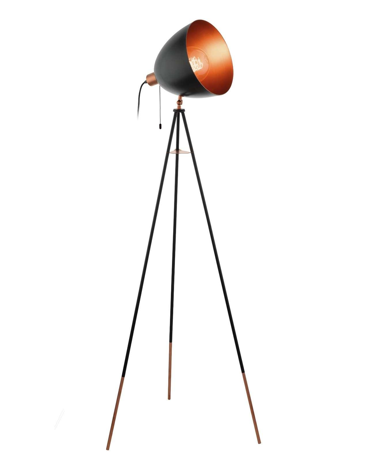 Vintage Stehlampe 49386 Chester Von Eglo