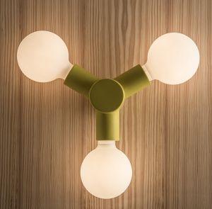 1033P TRAFFIC Wandlampe von Toscot