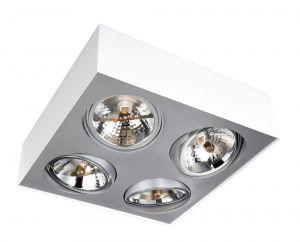 Deckenlampe BLOQ 4 von Lirio by Philips weiß
