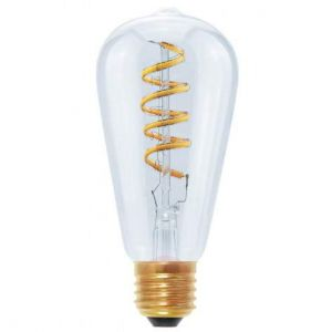 LED Rustica Curved Spirale klar E27 Segula