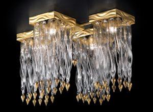 Alaska, Deckenstrahler 530/PL3 von Lamp, by Partizia Volpato