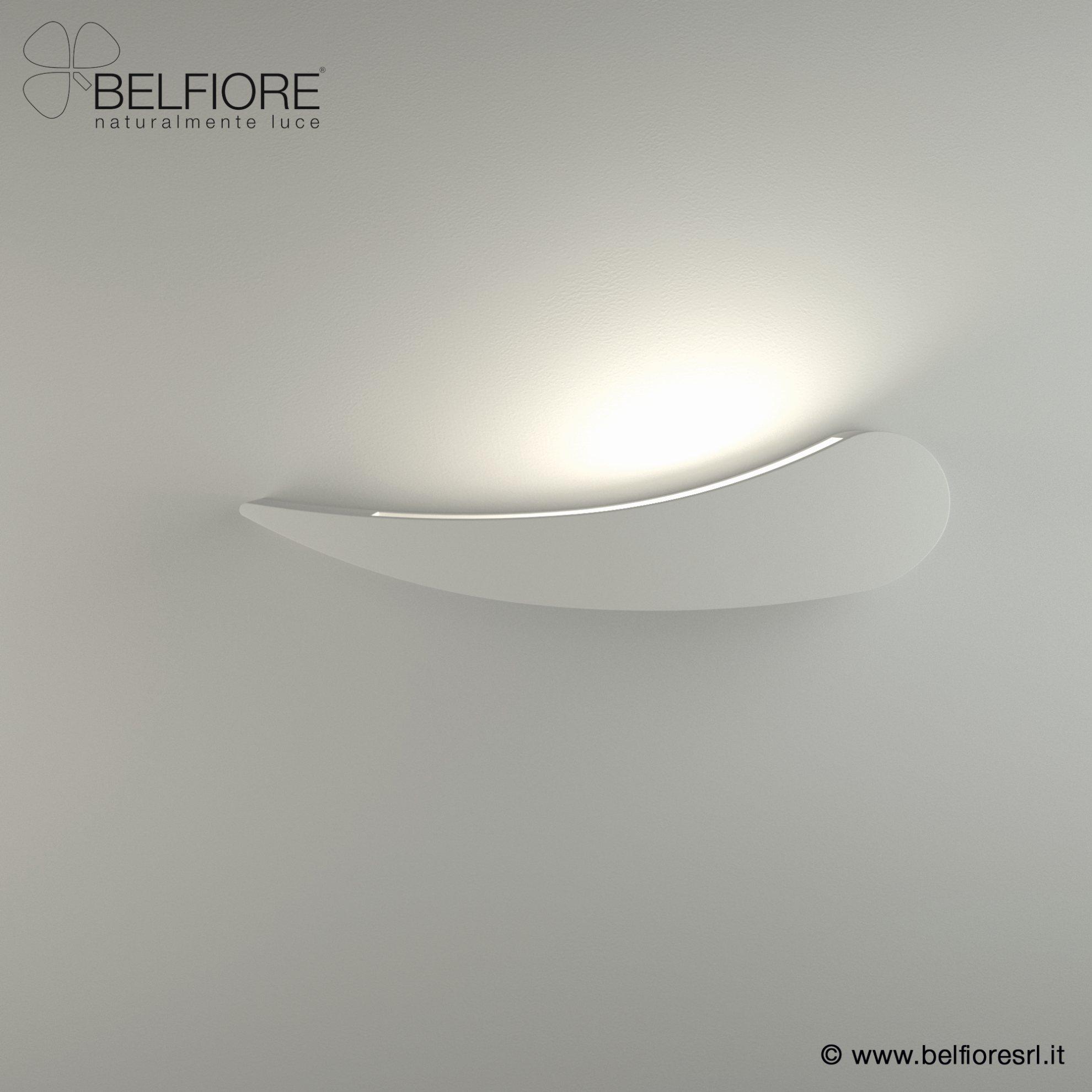 wandlampen aus gips von belfiore. Black Bedroom Furniture Sets. Home Design Ideas