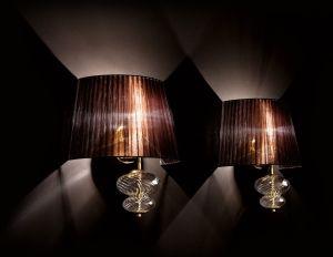 Musa lampada da parete di Vintage