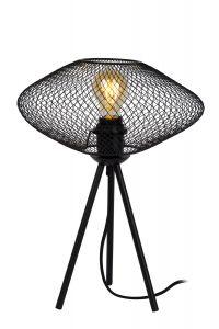LU 21523/01/30 MESH Tablelamp E27/40W Black