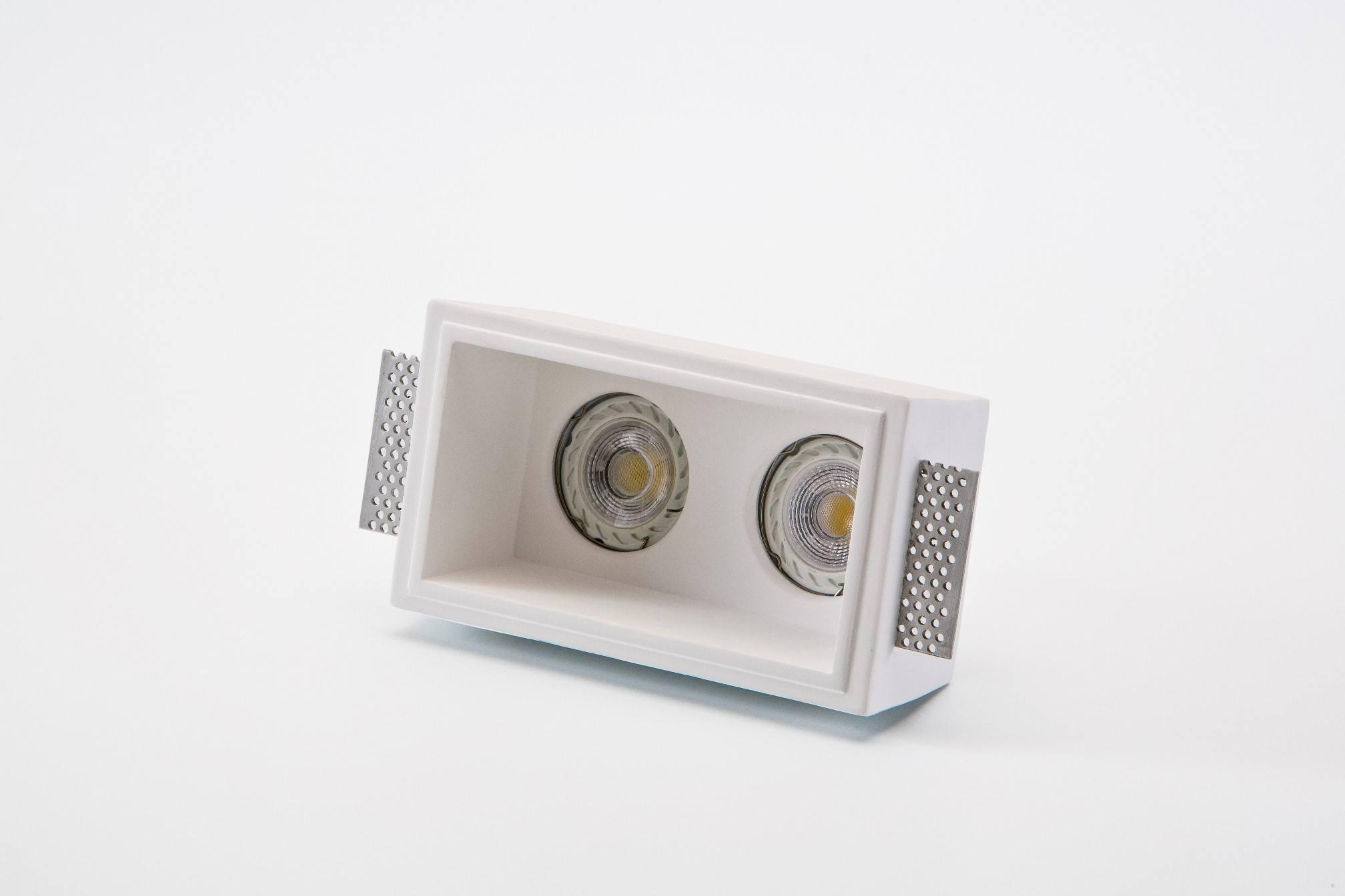 einbaulampe aus gips 808 von isy luce einbaustrahler innenleuchten platinlux der online. Black Bedroom Furniture Sets. Home Design Ideas