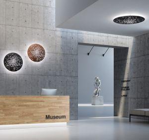 Lens LED Wand-/Deckenlampe von Fabbian