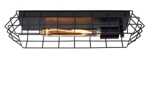LU 05132/01/30 LATTICE Ceiling Light E27/40W Black