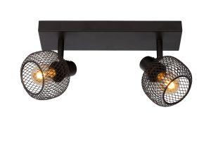 LU 77978/02/30 MAREN Ceiling spotlight E14 Black