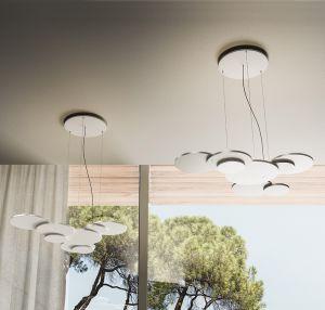 Overlap H1 LED Hängelampe von Rotaliana