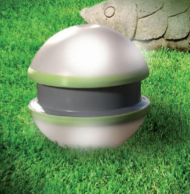 Yo yo est509 lampada per l 39 esterno pan lampade a sfera for Lampade a led vendita online