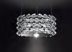 Collier quattro sospesa LED di Cini&Nils
